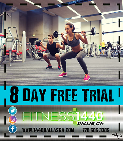 New 8 Day Pass Fitness 1440
