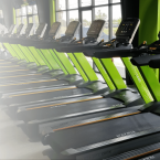 Treadmills at Fitness 1440 Gym in McDonough