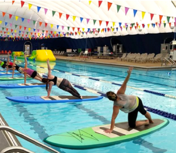 Fitness Equipment Nashville: Indoor SUP Yoga With Summertide Soulstice