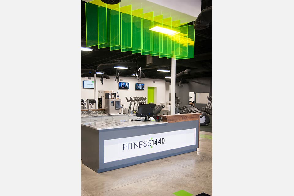 Fitness 1440 gym check in