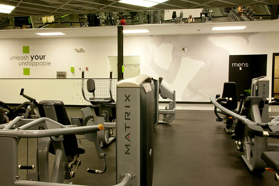 Fitness 1440 cardio room