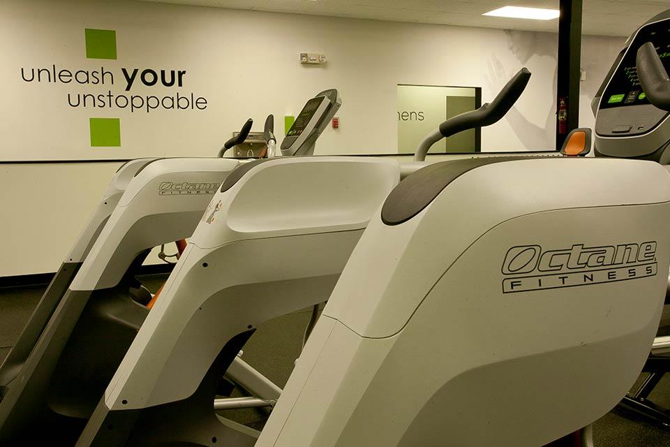 Fitness 1440 gym Octane fitness equipment
