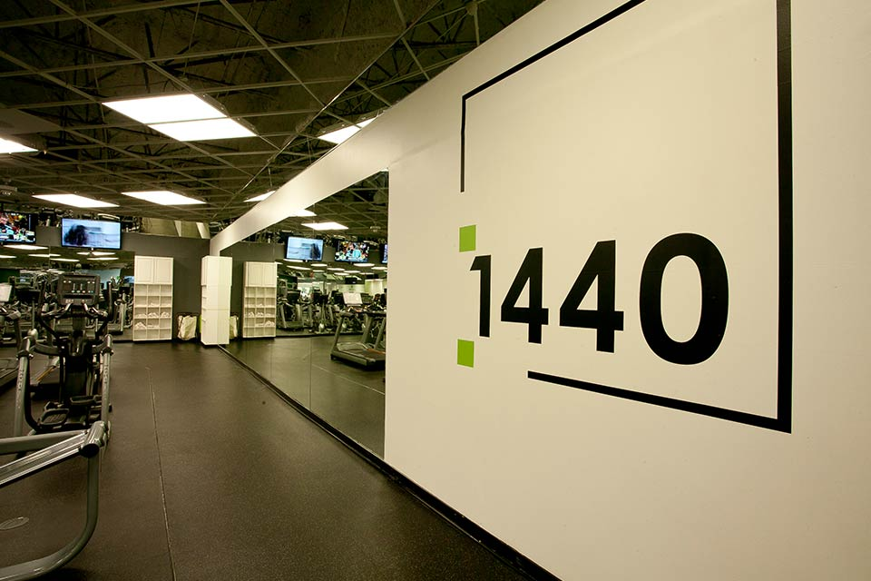 Fitness 1440 gym interior