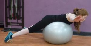 Fitness 1440 Stability Ball Back Extensions